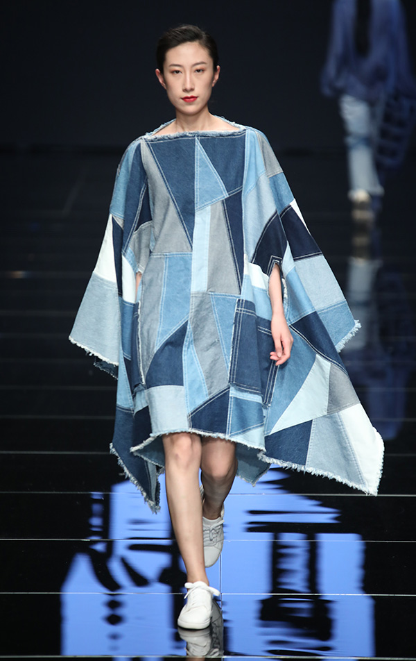 2018江南国际时装周 壹件件的丹宁拼接世界